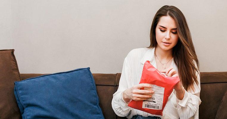Аня и онлайн-шоппинг.Распаковка