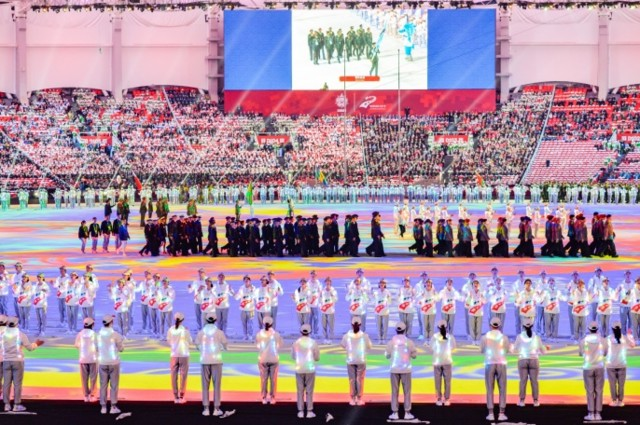 В Китае проходят Всемирные игры военнослужащих. Фото