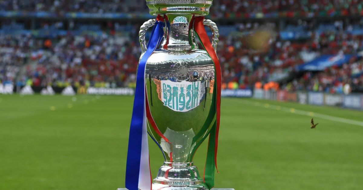 Евро-2020 едва не остался без трофея. Смотрите, как падал Кубок Европы