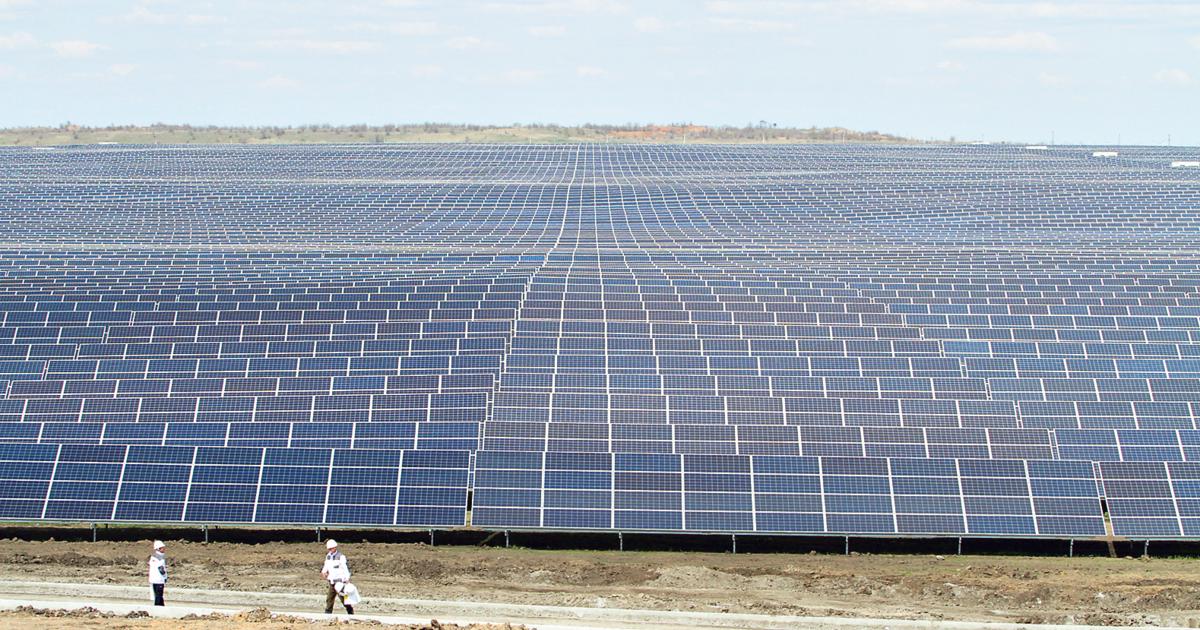 Нікопольська СЕС: як влаштована одна з найбільших сонячних електростанцій у Європі | Сьогодні