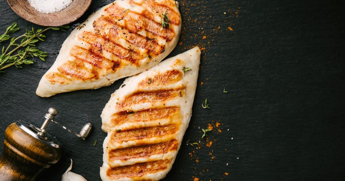 Заказать Куриная грудка с сыром на гриле  с доставкой на дом в Серпухове, Суши-бар ТАЙХЕО