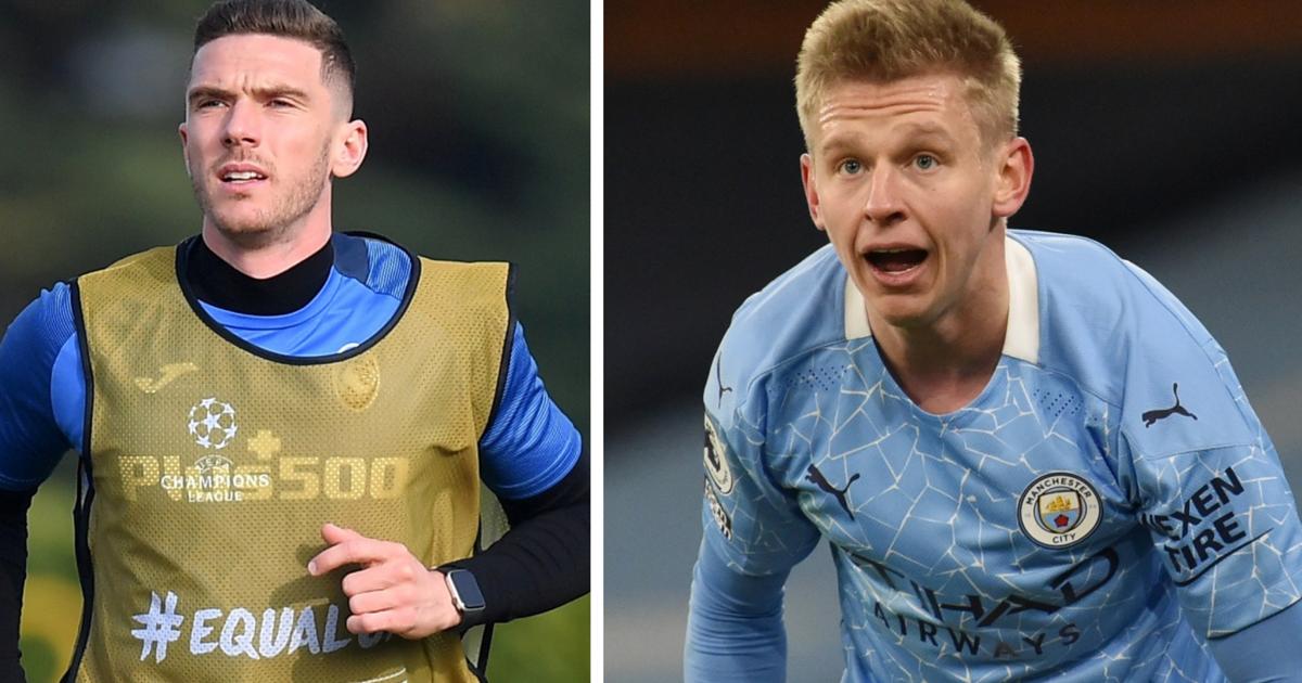 'Манчестер Сити' нашел замену для Зинченко в команде Малиновского