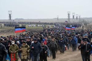 "Сборы ""резервистов"" ДНР / Фото: ДАН"