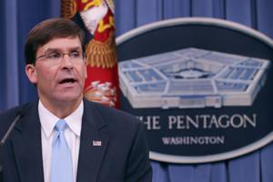 Виконуючий обов'язки глави Міноборони США Марк Еспер