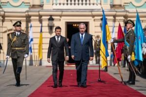 Владимир Зеленский и Биньямин Нетаньяху