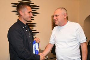 Миккель Дуэлунд и Игорь Суркис