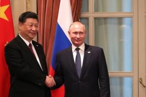 Председатель Китая Си Цзиньпин и президент РФ Владимир Путин