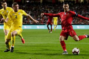 Украина vs Роналду