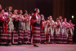 Выступление Национального заслуженного академического украинского народного хора Украины имени Григория Веревки