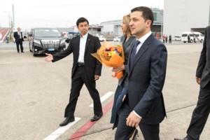 Владимир Зеленский во время рабочего визита в Японию