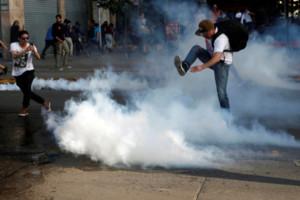 Протесты в Чили. Фото: REUTERS/RG/TC