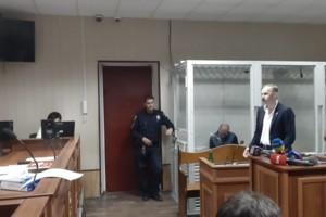 """Суд над """"святошинским стрелком"""" Алексеем Берестецким"""