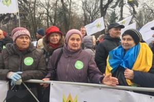 Мария Виннык: собрались поддержать аграриев. Фото: Сегодня