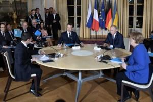 """Саммит """"Нормандской четверки"""""""
