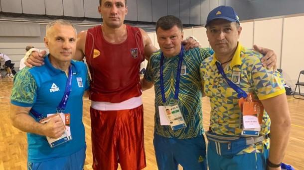 Виктор Выхрист с тренерами