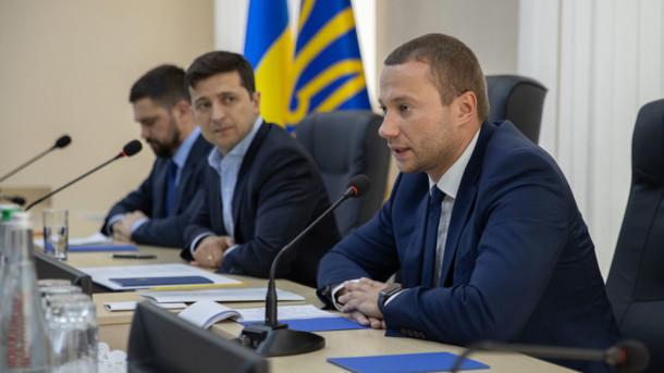 Зеленский и Кириленко (на переднем плане)