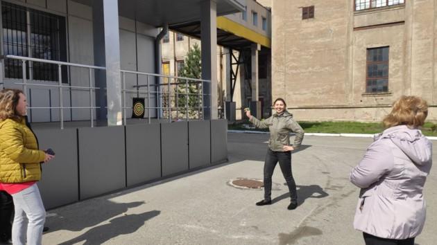Наталья Авильцева, дежурная стрелочного поста топливно-транспортного цеха ДТЭК Луганской ТЭС