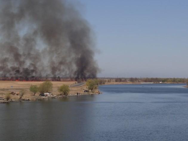 Пожар в Нижнеднестровском национальным парке. Фото: nnpp. org.ua.jpg