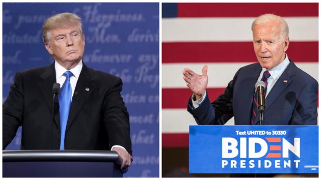 Трамп, Байден, выборы-2020