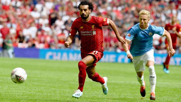 """""""Ливерпуль"""" vs """"Манчестер Сити"""". Салах и Зинченко"""