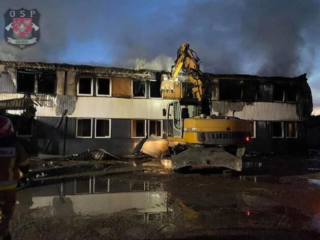 Фото: прес-служба пожежної служби Польщі