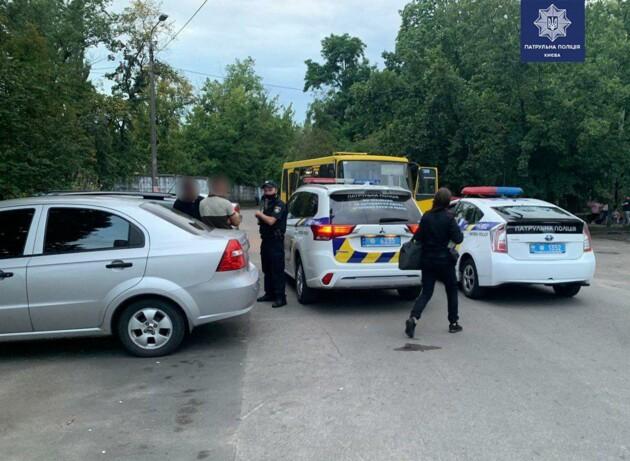 Фото: патрульная полиция Киева