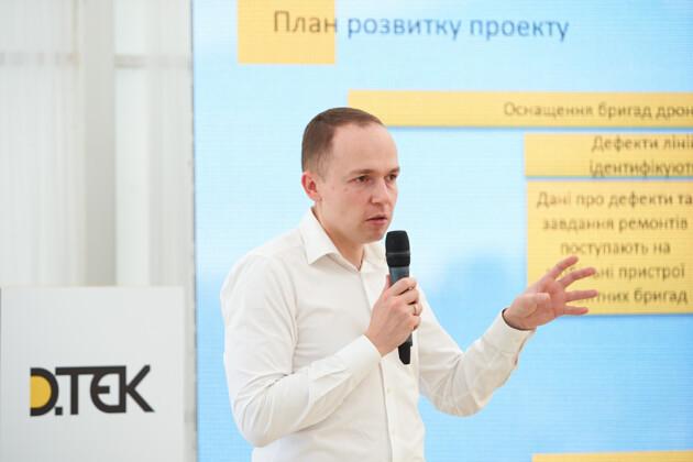 Иван Гелюх, генеральный директор ДТЭК Сети