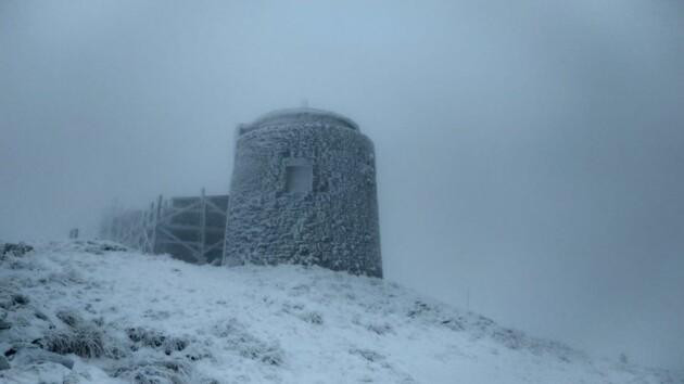 18 октября в Карпатах снег – Черногорский горный поисково-спасательный пост