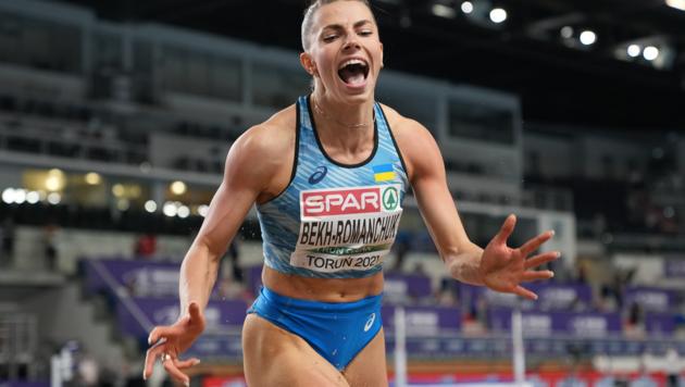 Лучший прыжок года в мире! Украинка Бех-Романчук – чемпионка Европы