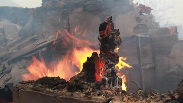 Чеченская схема на Донбассе: зачем оккупантам фото разрушенных домов