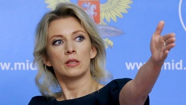 Захарова отреагировала на решение Украины пустить российский самолет