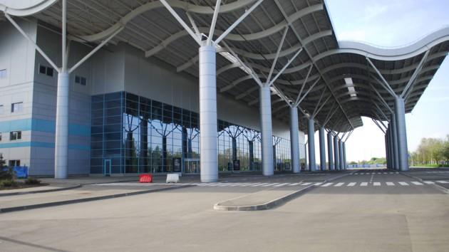Новый терминал аэропорта в Одессе