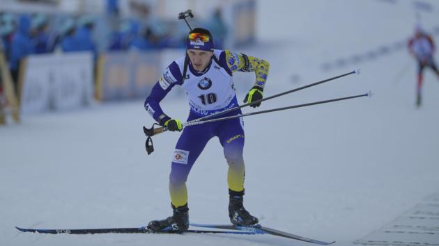 Лучший украинский биатлонист не выступит в спринте на этапе Кубка мира в Оберхофе