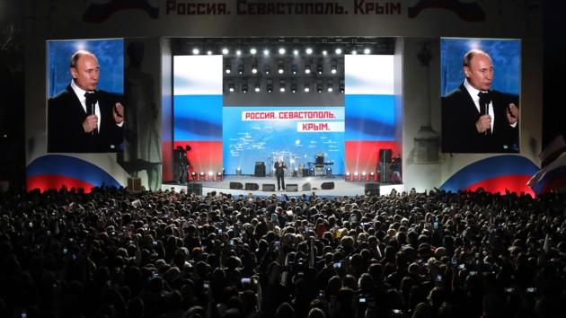 Путин в Севастополе в марте 2018 года. Фото: kremlin.ru