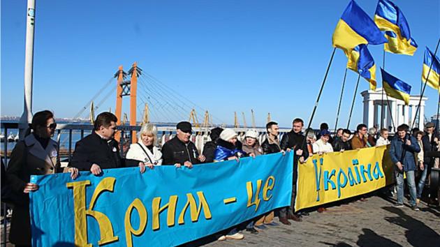 Российский Greenpeace использует карту, где Крым обозначен частью России