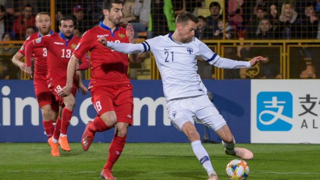 Армения - Финляндия - 0:2
