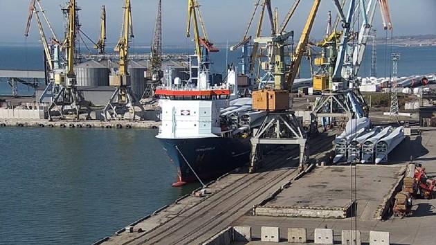 Фото: Администрация морских портов Украины / Facebook