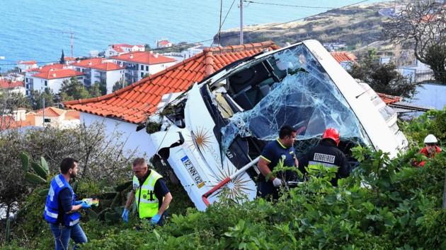 В ДТП на Мадейре погибли 29 человек