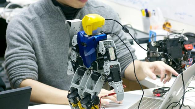 Робот Robotis Bioloid