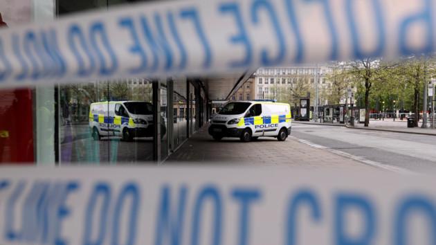 В Лондоне полицейский автомобиль сбил пешехода