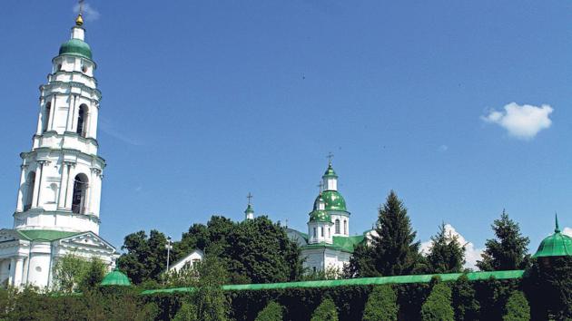 Жемчужина Полтавщины. Из-за удаленности от мегаполиса монастырь на горе сохранил дух отшельничества и молитвенной тишины