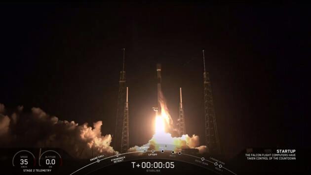 Илон Маск запустил ракету Falcon 9 с особенным спутникомна борту: опубликовано видео