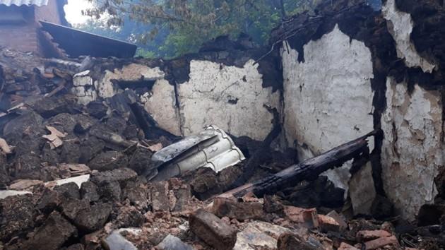 На месте обстрелов оккупантами жилых домов в Верхнеторецком Донецкой области. Фото: Операция Объединенных сил/ Facebook