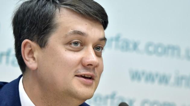 Разумков рассказал, какой комитет должен заниматься Донбассом