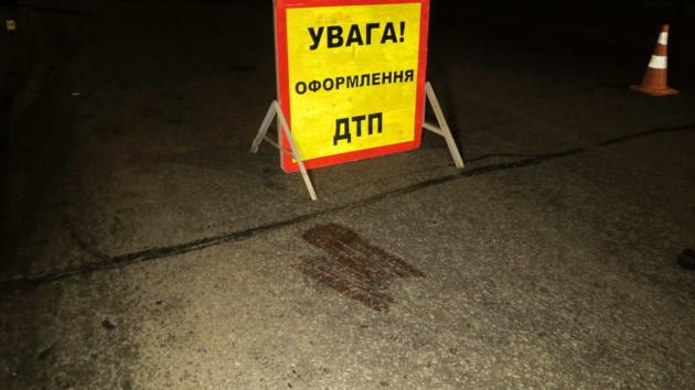 В Киеве разбились два мотоциклиста
