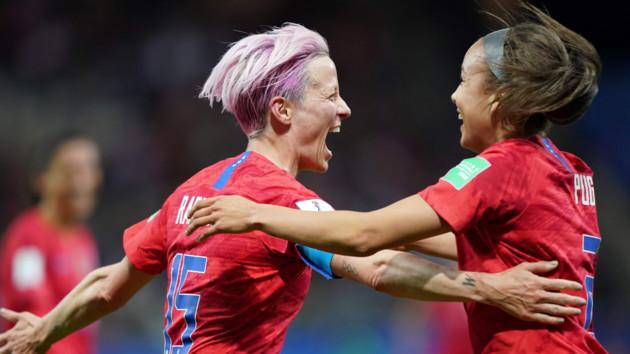 Американки разгромили сборную Таиланда со счетом 13:0