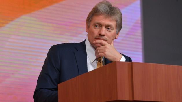 У Кремлі жорстко відповіли на заяву Зеленського про санкції проти Росії