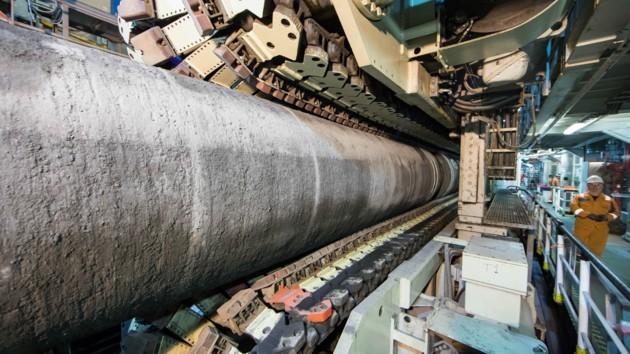 """Сварка трубы газопровода """"Северный поток - 2"""". Фото: nord-stream2.com"""