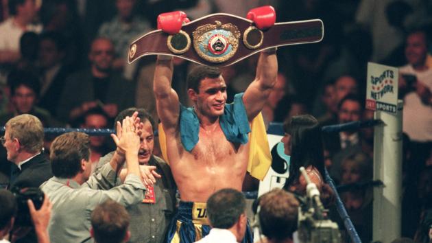 20 лет назад. Виталий Кличко - с поясом WBO