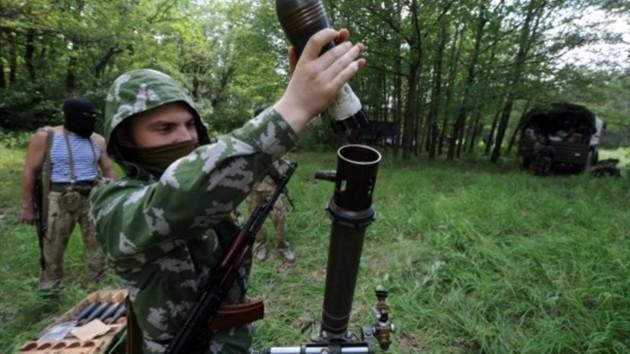 У боевиков рванул миномет, есть погибшие и раненые